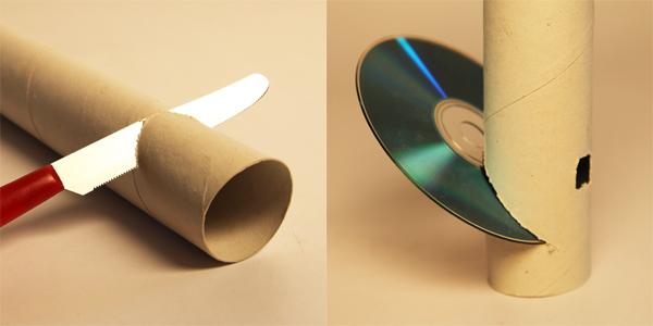 Fabuleux Lo spettroscopio col CD EU41